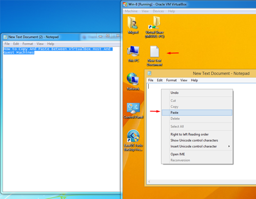 How to Copy And Paste Between VirtualBox Host And Guest Machines 14