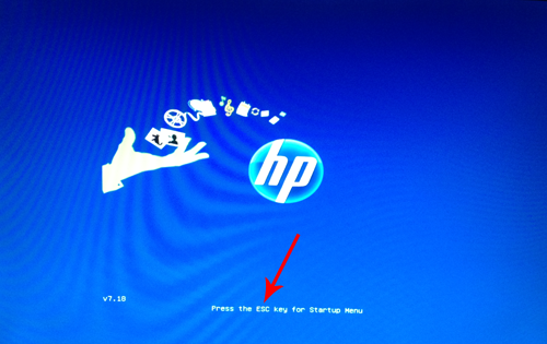 Hp 650 recovery manager