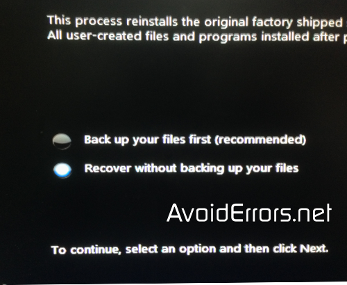 How to restore HP Pavilion back to factory defaults 18