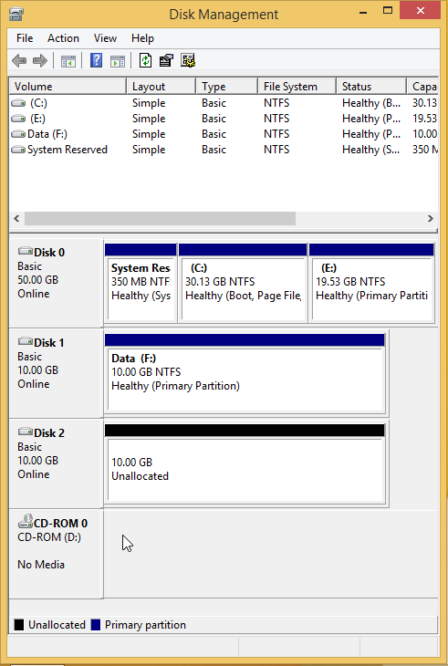 Use Drive Mirroring for Instant Backup in Windows 8 2