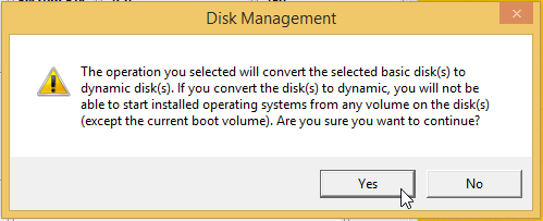 Use Drive Mirroring for Instant Backup in Windows 8 5