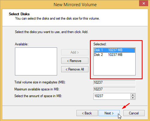 Use Drive Mirroring for Instant Backup in Windows 8 55