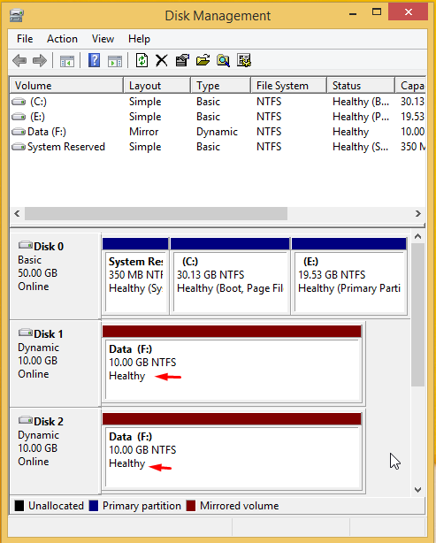 Use Drive Mirroring for Instant Backup in Windows 8 7