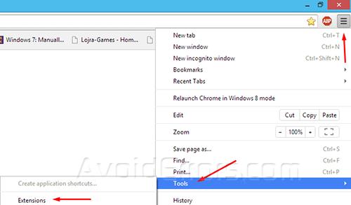 Force Delete Google Chrome Extensions - AvoidErrors