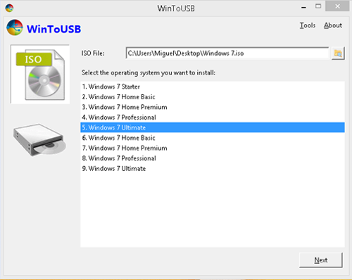 Run a Portable Version of Windows 7 from a USB Drive 5