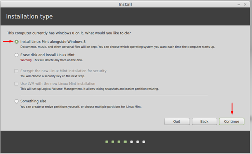 dual boot windows 8 1 linux mint 17 3