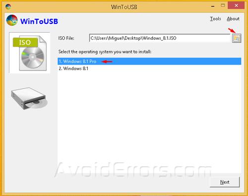 Create a Windows 8.1 Portable USB Drive