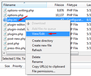 The Uploaded File Exceeds The upload_max_filesize directive in php.ini._3