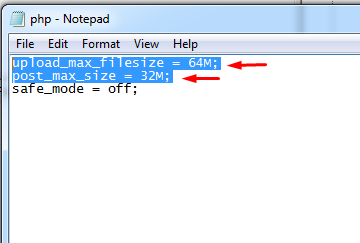 The Uploaded File Exceeds The upload_max_filesize directive in php.ini._4