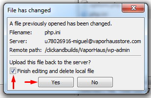 The Uploaded File Exceeds The upload_max_filesize directive in php.ini._6