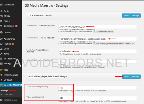Host Videos on WordPress Using Amazon S3 10