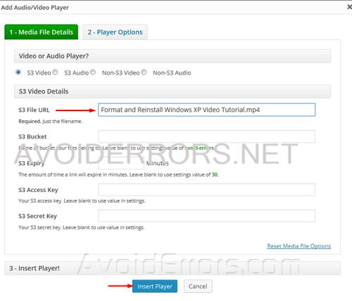 Host Videos on WordPress Using Amazon S3 8