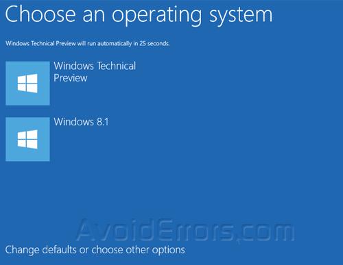 Dualboot Windows 8.1 with Windows 10 13