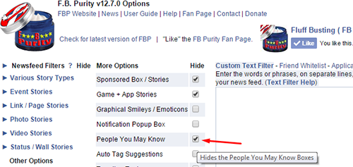 Disable people you may know feature 4
