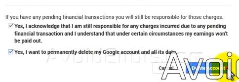 delete gmail 4