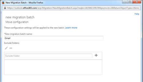 gmail to exchange 3