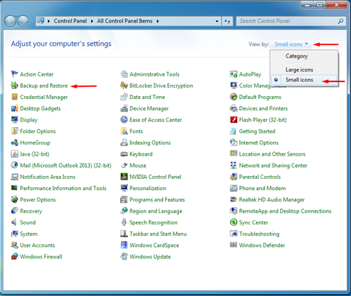 how to create repair disk for windows 7
