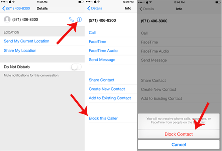How to block a phone number on iphone 4 verizon unlock