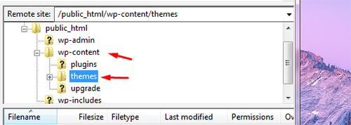 Install Wp Themes Manually 4