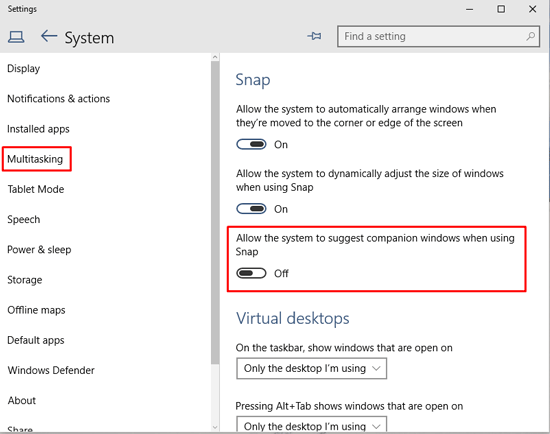 Disable-Snap-Feature-in-Windows-10-2