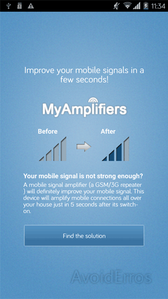 Signal Booster App GSM 3G 4G - AvoidErrors