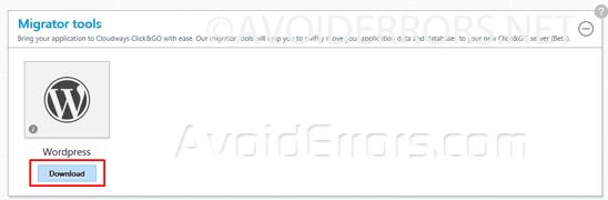 Migrate-your-WordPress-Website-Using-Migrator-Plugin-4
