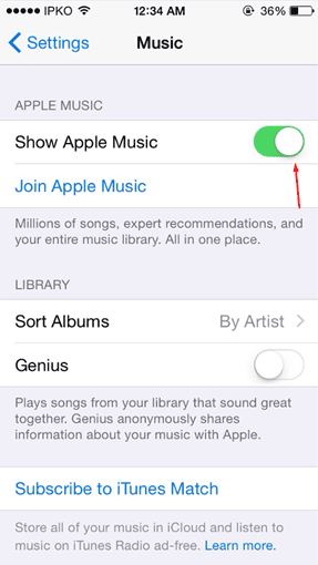 Remove apple music 17