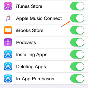 Remove the Connect Feature in Apple Music