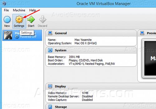 How to Install Niresh Yosemite on VirtualBox - AvoidErrors