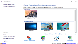 Windows 10 – Get Back The Classic Personalization Window