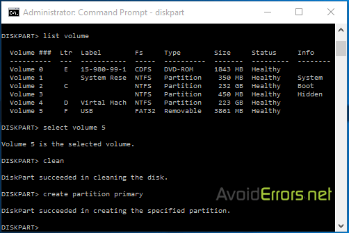 Format-a-hard-drive-Via-Command-Prompt