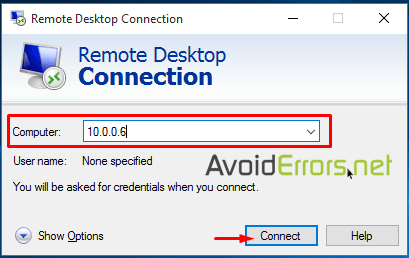 How to Remote Desktop Access Windows 10 - AvoidErrors