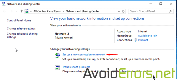 How to Setup a VPN Connection on Windows 10 - AvoidErrors