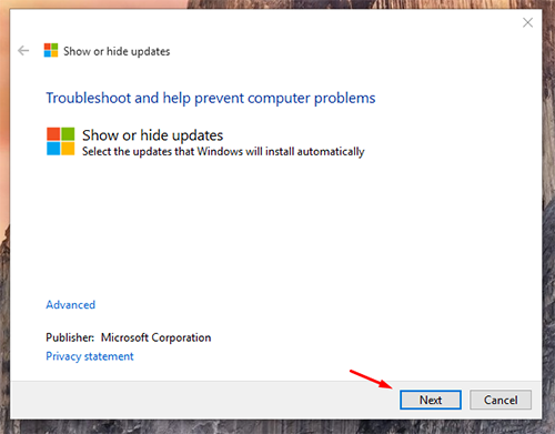 block unwanted Windows Updates 1