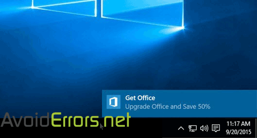 Turn Off Get Office Notifications In Windows 10