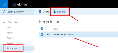 How to recover deleted OneDrive files in Windows 10 2