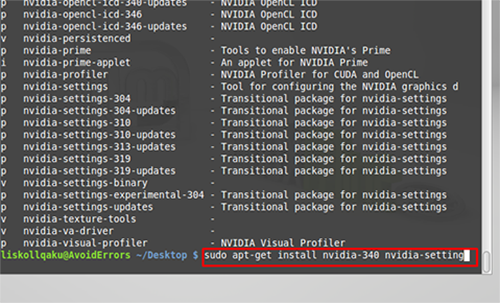 Install Latest Nvidia Drivers on Linux 8