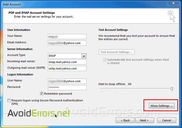 Setup-Yahoo-Account-with-Outlook-2013-Using-IMAP-4