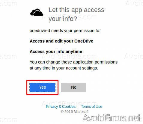 Sync-Microsoft-OneDrive-in-Linux-picture-5