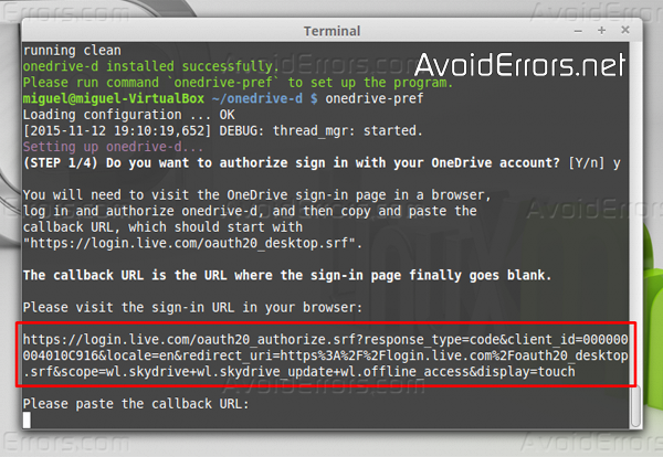 How to Sync Microsoft OneDrive in Linux Mint - AvoidErrors