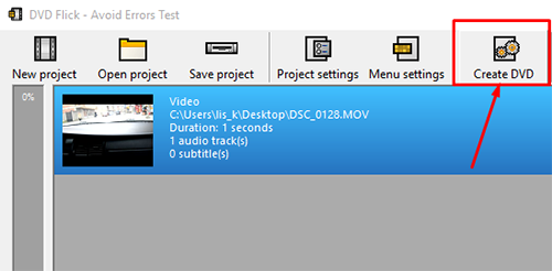 burn almost every video file to a dvd 10