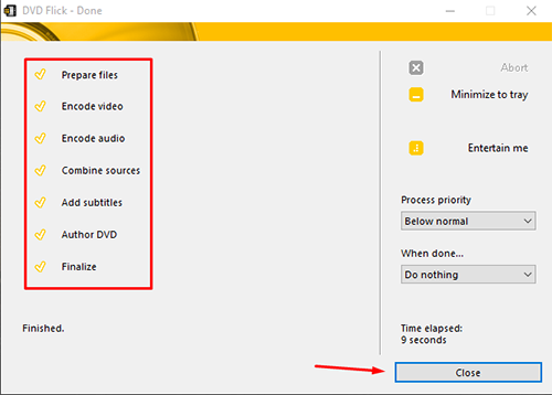 burn almost every video file to a dvd 11