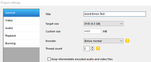 burn almost every video file to a dvd 4