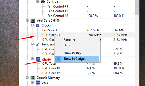 How to Display Current CPU Temperature on Windows Desktop - AvoidErrors