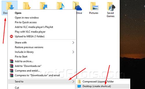 pin downloads folder to taskbar 1