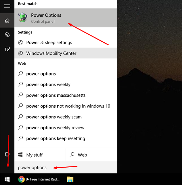 How To Turn On Or Off Fast Startup In Windows 10 1