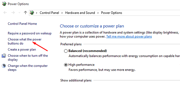 How To Turn On Or Off Fast Startup In Windows 10 2