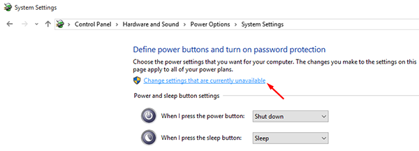 How To Turn On Or Off Fast Startup In Windows 10 3