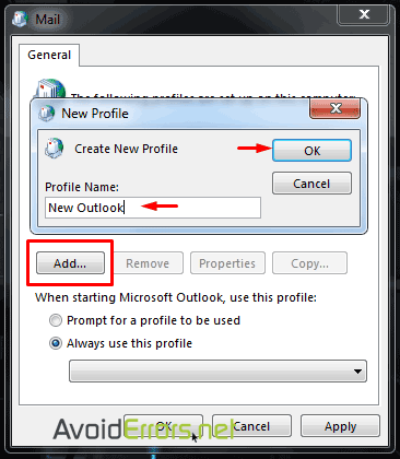 Outlook-cannot-logon-verify-you-are-connected-to-the-network-3