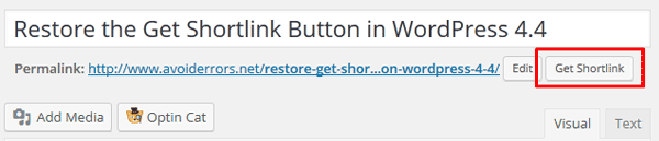 Restore-the-Get-Shortlink-Button-in-WordPress